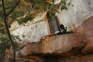 John-Paul-Karadada Rock Art training camp